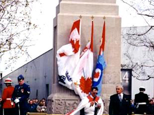 National Steelcar Cenotaph Dedication Ceremony